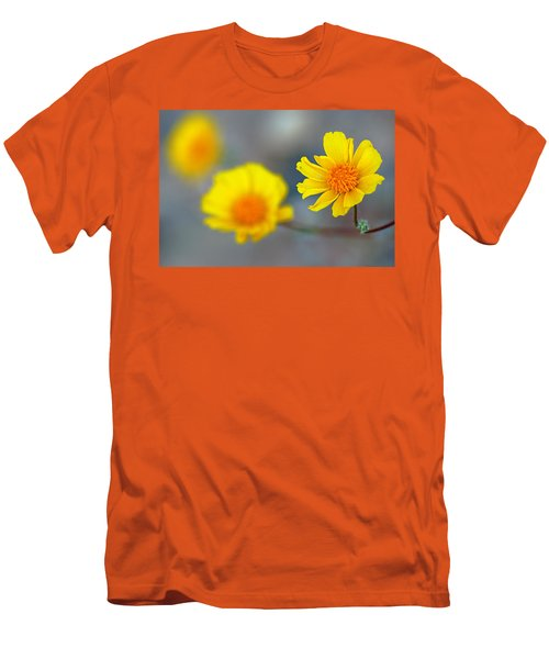 Death Valley Superbloom 204 Men's T-Shirt (Slim Fit) by Daniel Woodrum