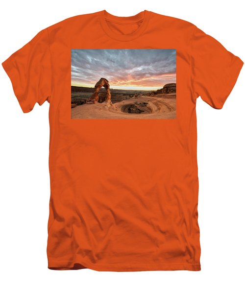 Delicate At Sunset Men's T-Shirt (Athletic Fit)
