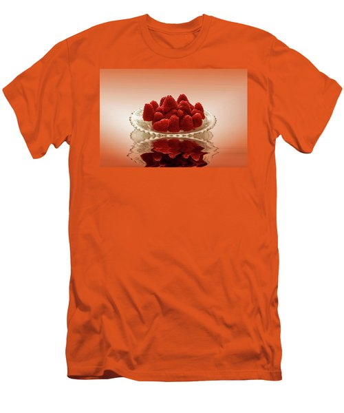 Delicious Raspberries Men's T-Shirt (Athletic Fit)