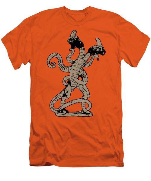 Demogorgon Stranger Things Digital Version Men's T-Shirt (Slim Fit) by Jason Wright
