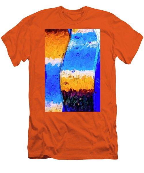 Men's T-Shirt (Slim Fit) featuring the photograph Desert Sky 3 by Paul Wear