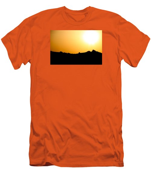Men's T-Shirt (Slim Fit) featuring the photograph Desert Strength  by Jez C Self