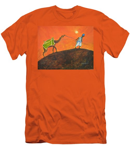 Desert Walk Men's T-Shirt (Athletic Fit)