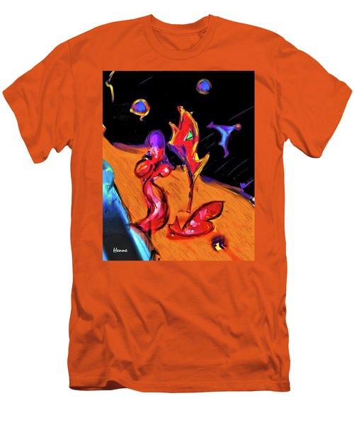 Distant Crossroads Men's T-Shirt (Slim Fit) by Robert Henne
