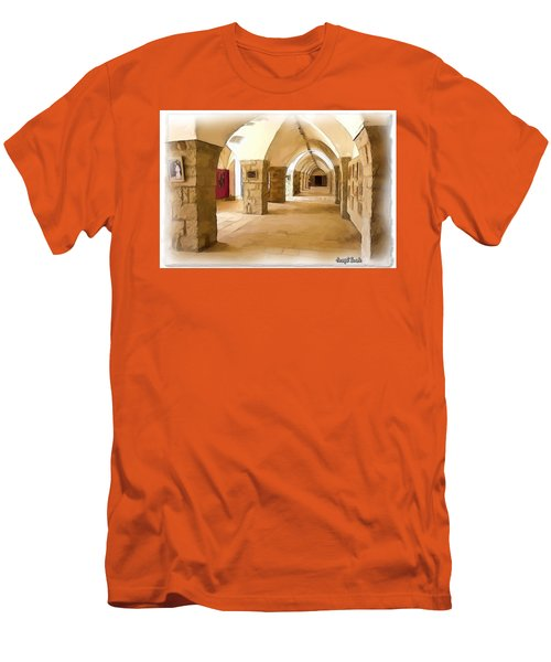 Do-00324 Beiteddine Gallery Men's T-Shirt (Slim Fit) by Digital Oil