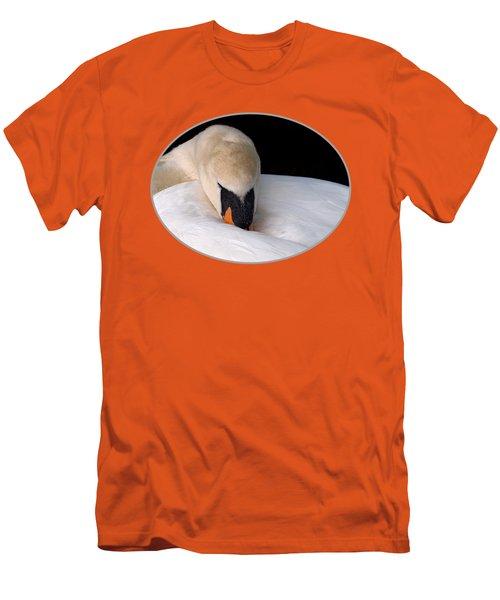 Do Not Disturb - Orange Men's T-Shirt (Athletic Fit)
