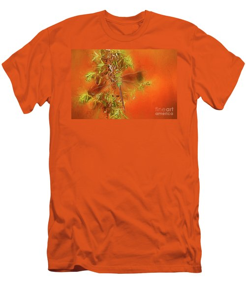 Dragonfly Men's T-Shirt (Slim Fit) by Suzanne Handel