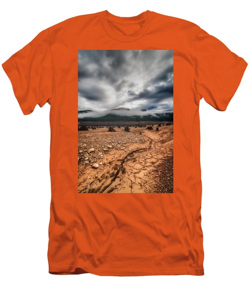 Men's T-Shirt (Slim Fit) featuring the photograph Drought by Ryan Manuel