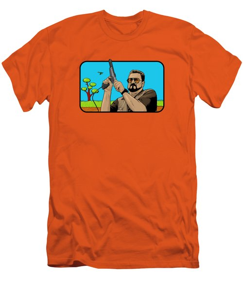 Duck Hunting On Shabbos  Men's T-Shirt (Athletic Fit)