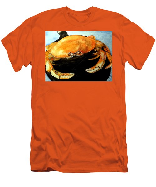 Dungeness For Dinner Men's T-Shirt (Slim Fit) by Carol Grimes