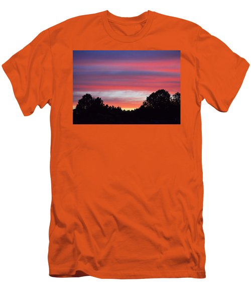 Early Morning Color Men's T-Shirt (Slim Fit) by Kathy Eickenberg