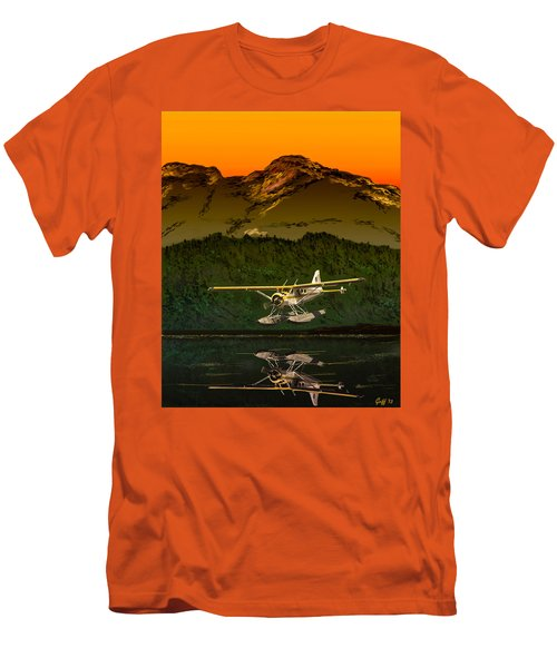 Early Morning Glass Men's T-Shirt (Slim Fit) by J Griff Griffin