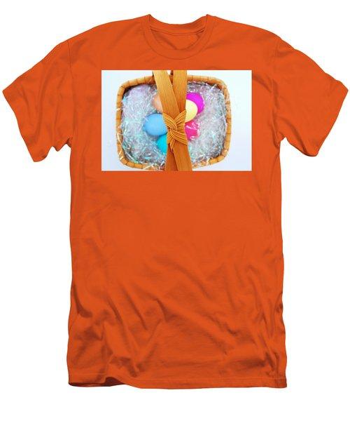 Easter Basket Men's T-Shirt (Athletic Fit)