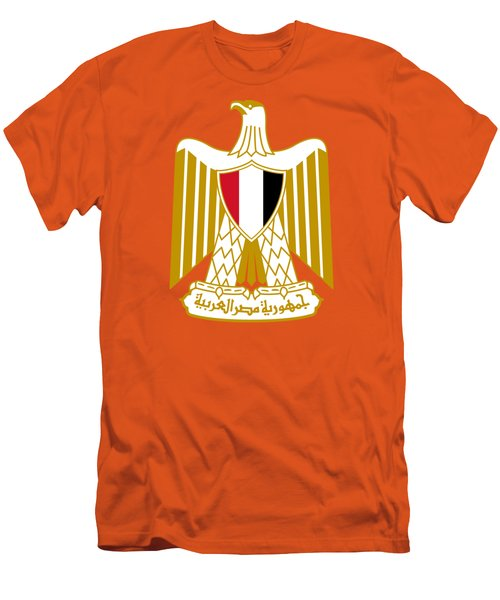 Egypt Coat Of Arms Men's T-Shirt (Slim Fit) by Movie Poster Prints