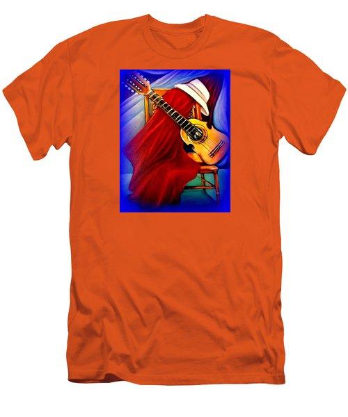 El Cuatro De Papi Men's T-Shirt (Athletic Fit)