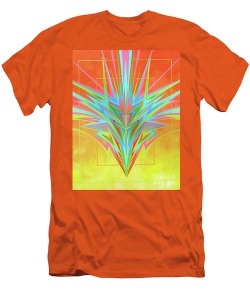 Electric Personality  Men's T-Shirt (Slim Fit) by Alan Johnson