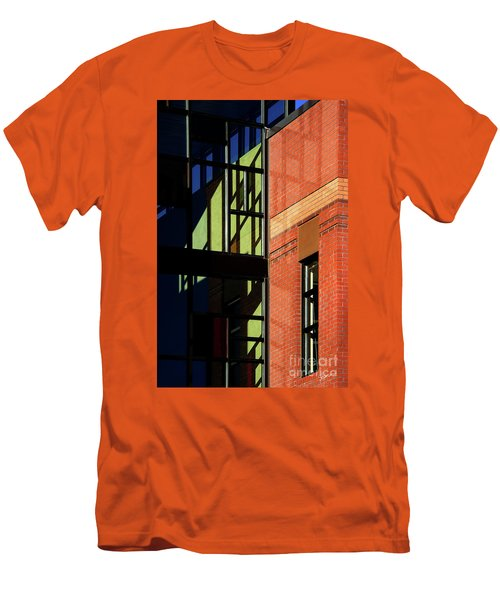Element Of Reflection Men's T-Shirt (Slim Fit) by Vicki Pelham