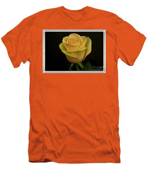 Men's T-Shirt (Slim Fit) featuring the photograph Empress Rose by Marsha Heiken