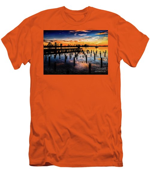 End Of The Fishing Day Men's T-Shirt (Athletic Fit)