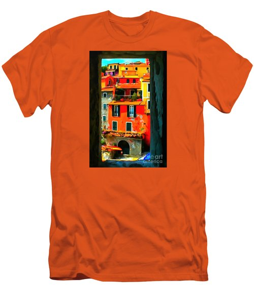Entry Way Painting Men's T-Shirt (Slim Fit) by Catherine Lott