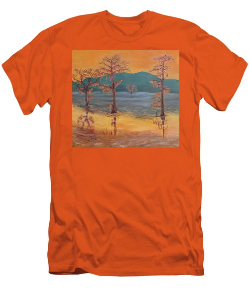 Evening On Caddo Lake Men's T-Shirt (Athletic Fit)
