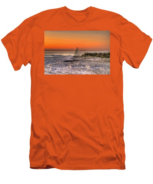 Evening Beach Glow  Men's T-Shirt (Athletic Fit)