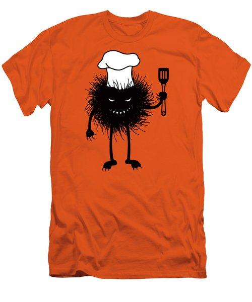 Evil Bug Chef Loves To Cook Men's T-Shirt (Slim Fit)