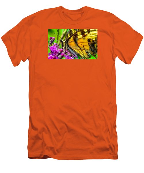Eye Of The Tiger 3 Men's T-Shirt (Slim Fit) by Brian Stevens