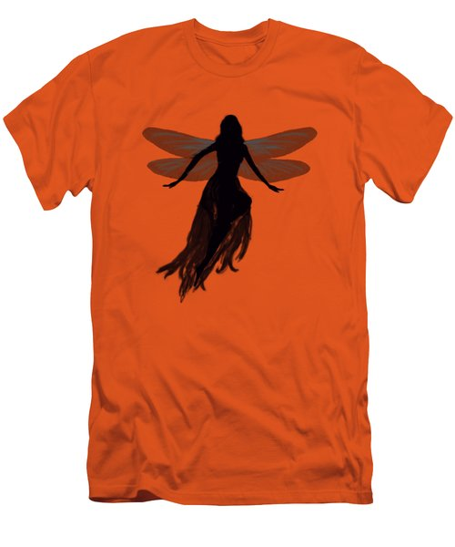 Fairy Silhouette Men's T-Shirt (Slim Fit) by Tom Conway