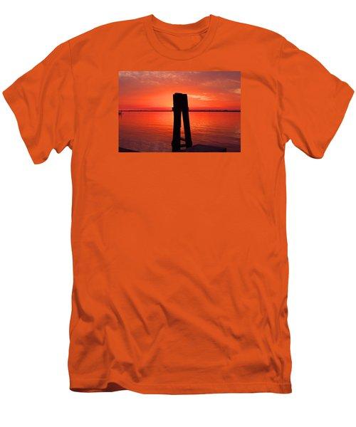 Men's T-Shirt (Slim Fit) featuring the photograph Faith Reunites Us by Michiale Schneider