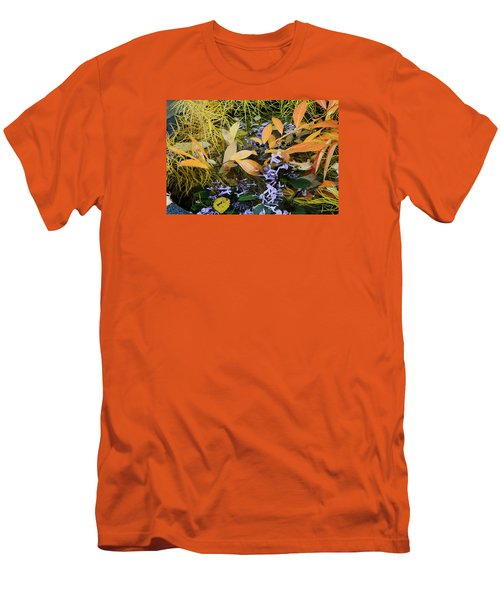 Men's T-Shirt (Slim Fit) featuring the photograph Fall Color Soup by Deborah  Crew-Johnson