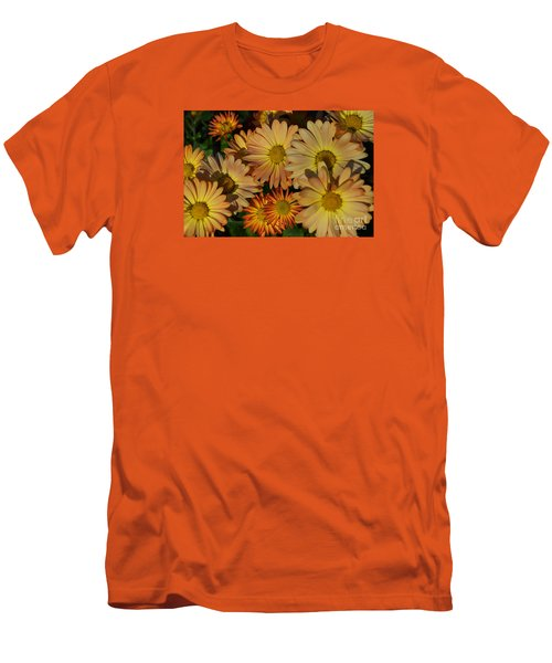 Fall Flowers In Madison  Men's T-Shirt (Athletic Fit)