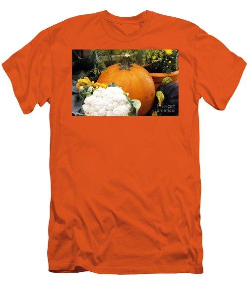 Fall Harvest Men's T-Shirt (Slim Fit) by Judyann Matthews