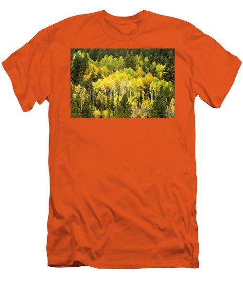 Fall In The Sierras Men's T-Shirt (Athletic Fit)