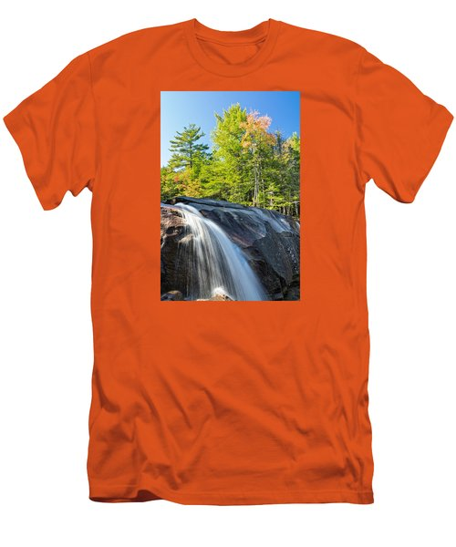 Falls Diana's Baths Nh Men's T-Shirt (Slim Fit) by Michael Hubley