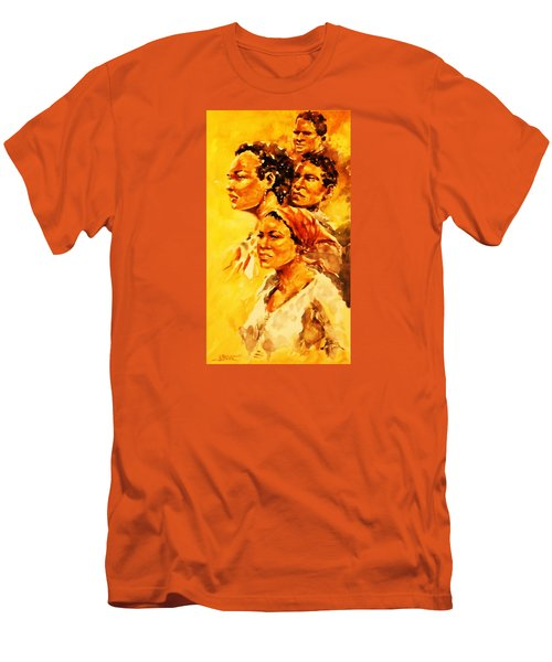 Family Ties Men's T-Shirt (Slim Fit) by Al Brown