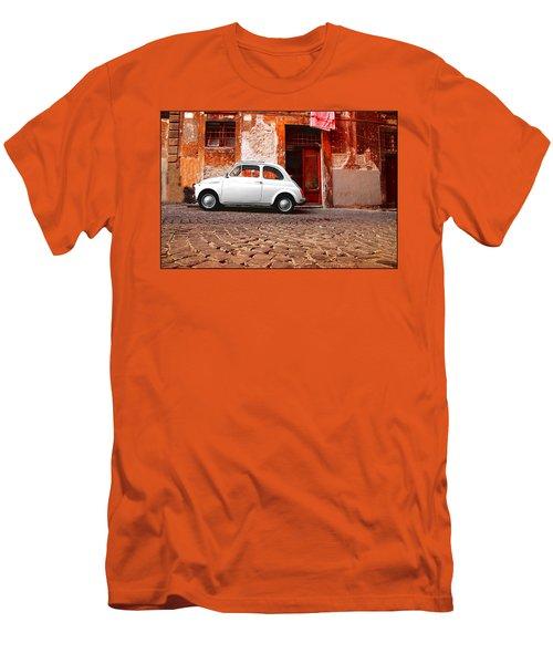Fiat 500 Men's T-Shirt (Athletic Fit)