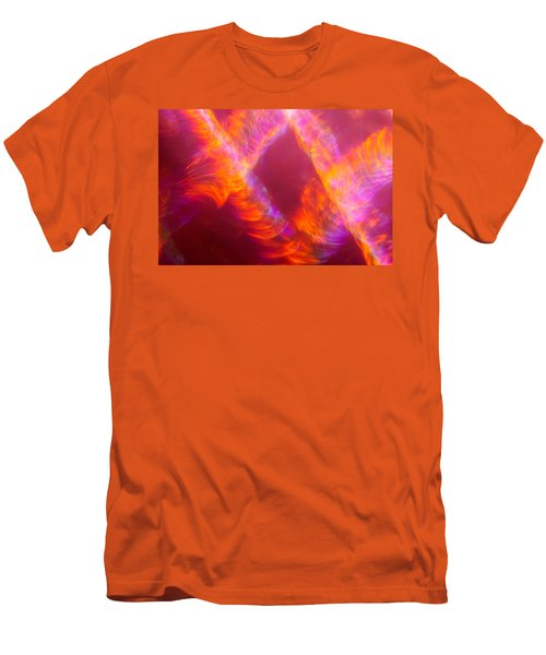Men's T-Shirt (Athletic Fit) featuring the photograph Fiery Cyclonic Fury by Greg Collins