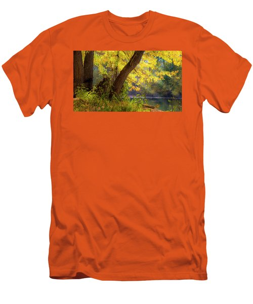 Filtered Light 2 Men's T-Shirt (Athletic Fit)