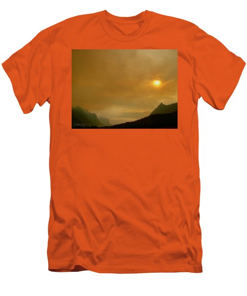 Fire And Sun Men's T-Shirt (Athletic Fit)