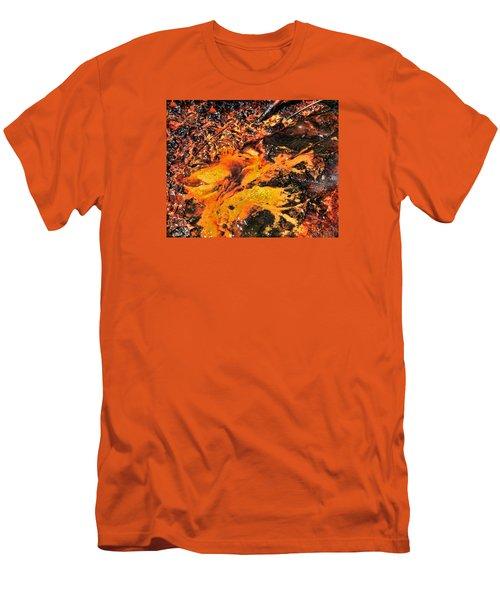 Fire Men's T-Shirt (Slim Fit) by John Bushnell