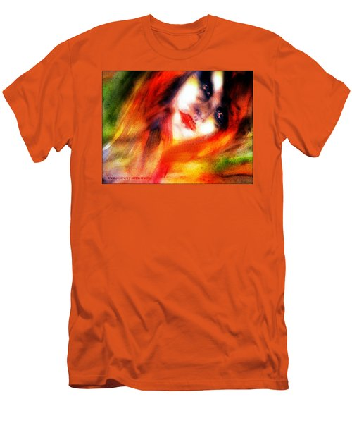 Fire Woman Men's T-Shirt (Athletic Fit)