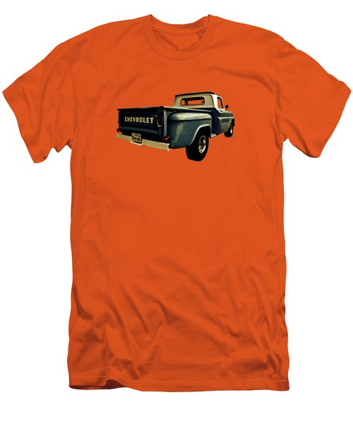 Five-six Chevy Pickup And The Golden Sky Men's T-Shirt (Athletic Fit)