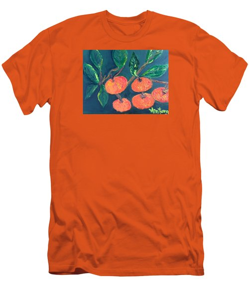 Five Tangerines Men's T-Shirt (Athletic Fit)