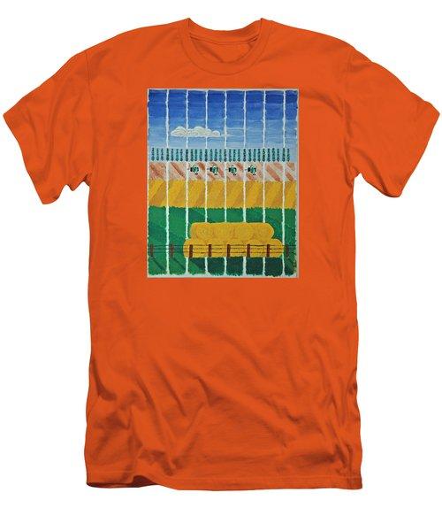Five Tractors Men's T-Shirt (Athletic Fit)