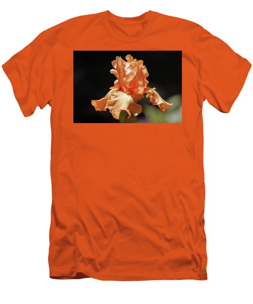 Men's T-Shirt (Athletic Fit) featuring the photograph Flaming Floral by Deborah  Crew-Johnson