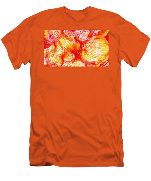 Flaming Hosta Men's T-Shirt (Athletic Fit)