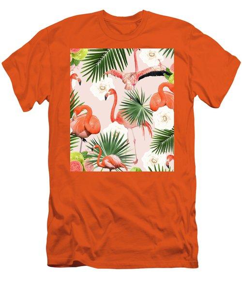 Flamingo Guava Men's T-Shirt (Athletic Fit)