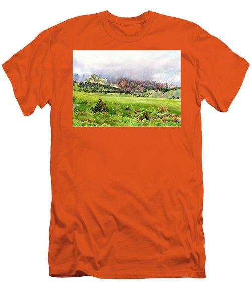 Flatirons Vista Men's T-Shirt (Athletic Fit)