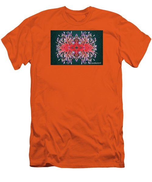 Men's T-Shirt (Slim Fit) featuring the photograph Floral Display by Gary Crockett